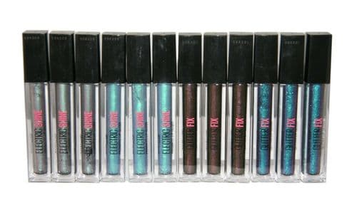 12 x Maybelline Glitter Fix & Electric Shine Lip Gloss | 4 Shades |